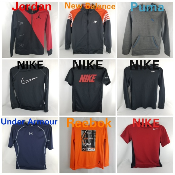 Nike Other - BOYS NIKE/UNDER ARMOUR ATHLETIC FITNESS BUNDLE MED